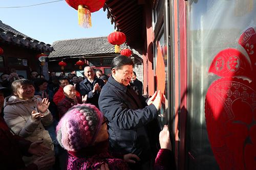 总书记七年间春节前夕慰问基层群众回顾